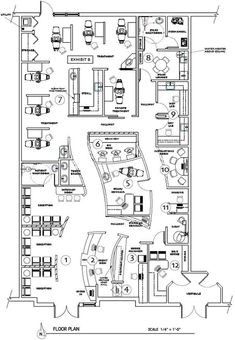 Floor plan of office layout t m v i google plan office for Office design survey questions