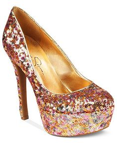 Jessica Simpson Shoes, Devin Platform Pumps - I adore Jessica Simpsons fashion line.