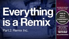 Everything is a Remix Part 2 offers a reminder that 'new' ideas don't appear out of nowhere, rather they come from combining old ideas in new ways.