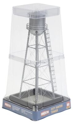 Walthers Cornerstone Series Built-ups HO Scale City Water Tower Silver #WalthersCornerstoneSeriesBuiltups