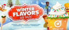 Home | Orange Leaf Frozen Yogurt Chocolate Toffee, Mint Chocolate, Orange Leaf, Frozen Yogurt, Peppermint, Gingerbread, Sweet Treats, Sweets, Christmas Ornaments