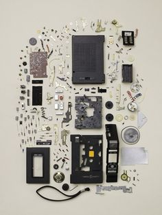 'Disassembly' is a series of photos by Toronto-based photographer Todd Mclellan that captures dismantled objects from our past. Corel Painter, Street Curb, Things Organized Neatly, Sweet Station, Coming Apart, Oldschool, Take Apart, Deconstruction, Household