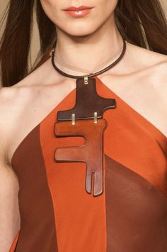 Donna Karan at New York Spring 2014 (Details)
