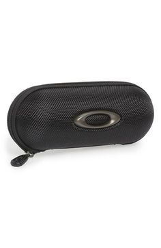 Women's Oakley 'Small Soft Vault' Reinforced Nylon Sunglasses Case - Black