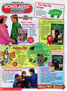 Scholastic Book Club What memories do you associate with this? Source:Zithrop