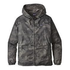 Patagonia M's Light & Variable™ Hoody, Forest Camo: Forge Grey (FCFG)