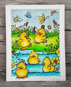 "Stempelglueck: Marianne Design ""Ducks"""
