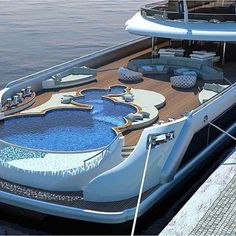 Find images and videos about luxury, pool and yacht on We Heart It - the app to get lost in what you love. Luxury Yacht Interior, Luxury Boat, Best Luxury Cars, Yacht Design, Sailboat Plans, Plywood Boat Plans, Yacht Cruises, Diy Boat, Boat Building Plans
