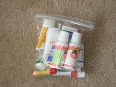 Reglas y medidas para el equipaje de mano. Transporte de líquidos