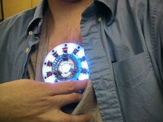 Complete Your Iron Man Halloween Costume With A DIY Arc Reactor.