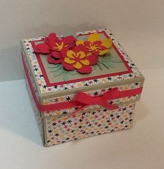 Botanical Explosion Card by razldazl - Cards and Paper Crafts at Splitcoaststampers