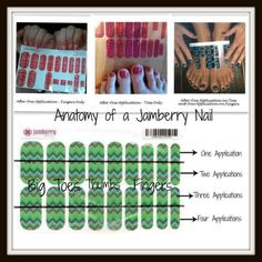 How to use a Jamberry Nails sheet. Nail art at your fingertips. www.anj.jamberrynails.net