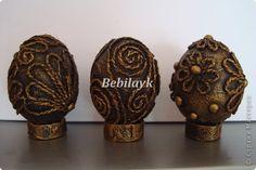 Декор предметов Пасха Аппликация из скрученных жгутиков И снова Пасха на носу Салфетки фото 4