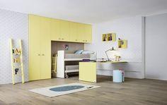 Habitaciones Juveniles y Muebles Modulares infantiles