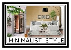 """""""Minimalist style"""" by summer-marin ❤ liked on Polyvore featuring interior, interiors, interior design, home, home decor, interior decorating, Devine Color, Olsson, Home Decorators Collection and Cathy's Concepts"""