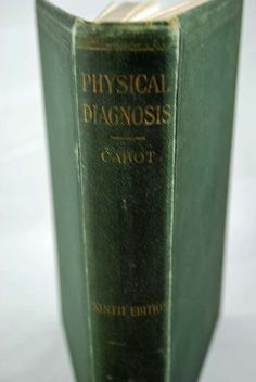 Vintage Antique Medical Book 1927  Physical by annswhimsey on Etsy, very very collectible by doctors and non-medical -- grow in value