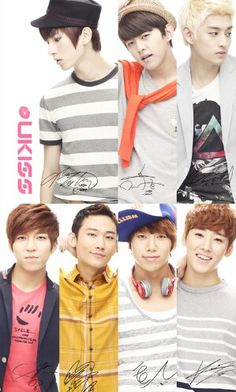 My ukiss shipments are together! Soohyun's by himself. Kevin & Eli, Dongho & Hoon, and Kiseop & Aj <3
