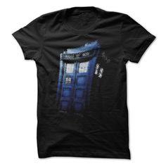Wibbly Wobbly Tardis T-Shirt