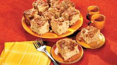 """According to Michelle, """"Black walnuts give this coffee cake a unique flavor as opposed to English walnuts. Brunch Recipes, Breakfast Recipes, Dessert Recipes, Dessert Ideas, Breakfast Ideas, Cake Recipes, Sausage Recipes, Cooking Recipes, Streusel Coffee Cake"""