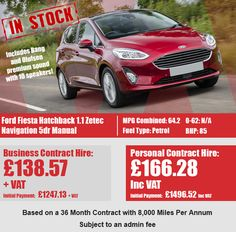 Ford Fiesta Hatchback 1.1 Zetec Navigation 5dr Ford, Business, Store, Ford Trucks, Ford Expedition