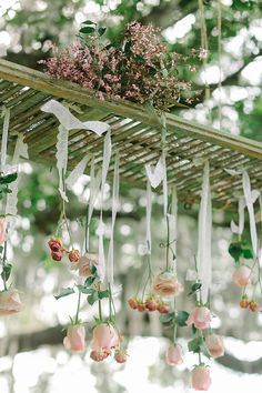 rose chandelier   Catherine Ann Photography   Glamour & Grace