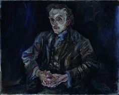 Oskar Kokoschka - Adolf Loos, 1909