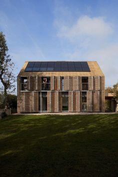 Passive house in Bessancourt by KARAWITZ Architecture