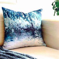 Winter Storm Throw Pillow 20x20