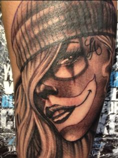 Girls with Tattoos Drawing | Chicano Girls Tattoos Zimg Chicanos Drawings Tattoo Font Picture ...