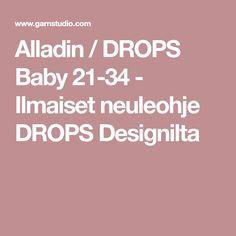 Alladin / DROPS Baby 21-34 - Ilmaiset neuleohje DROPS Designilta