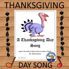 Get musical this Thanksgiving: teach students to sing this quick and easy to learn Thanksgiving Day Song. Fun song for all ages, and kids love music! Good Thanksgiving singing activity to fill some time around the holiday. You don't need a lot of musical talent for #singingtips Thanksgiving Classroom Activities, Thanksgiving Songs, Teaching Activities, Teaching Resources, Vocal Exercises, Singing Exercises, Breathe In The Air, Fun Songs, Music Covers