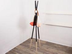 Tutoriel DIY: Fabriquer un porte manteau minimaliste via DaWanda.com