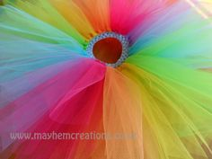 Hand made tutu dresses and skirts for every little princess. Rainbow Tutu, Little Princess, Make And Sell, Flowers, Handmade, Kiwi, Color, Online Shopping, Awesome