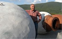 Josko Gravner & his amphorae #ribolla #fruili #italia