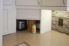 Countertop appliance garage corner solution | Carrollton - Belmeade - Kitchen | Kitchen Design Concepts | Dallas, TX