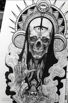 Chicano, Foot Tattoos, Sleeve Tattoos, Angel Back Tattoo, Dark Art Drawings, Arte Horror, Blackwork, Lion Sculpture, Girly
