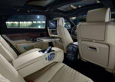 2017 Jaguar XJ interior, technology, front leather seats