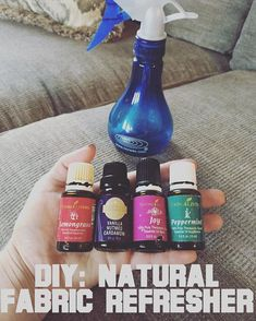 Ready for a fun little tip! Ditch that Febreze loaded with chemicals folks, there's a fun fresh and more natural alternative to refreshing… Cool Diy, Febreze Spray, Cheap Vodka, Easential Oils, Fabric Refresher, Clean Couch, Essential Oil Spray, Cleaners Homemade, Diy Cleaners