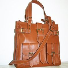 Caramel Leather Handbag Leather Purse Leather by chicleather, $149.00
