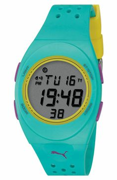 5c7fe90d7 PUMA 'Faas 250' Digital Sport Watch available at #Nordstrom Accesorios  Deportivos, Ropa