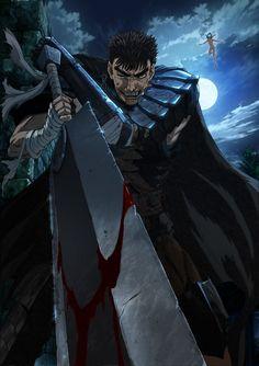 Black Swordsman and Puck