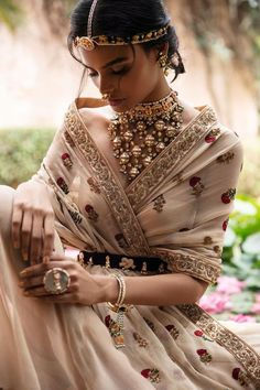 The Best Bridal Buys Of The Month! We are back with the best bridal things we spotted this month- and there are so many pretty things this time that they literally left us drooling! So here are our picks for the bridal buys for October. Indian Bridal Outfits, Indian Dresses, Fantasy Dress, Lakme Fashion Week, Indian Couture, Costume, Bridal Lehenga, Indian Designer Wear, Trendy Dresses