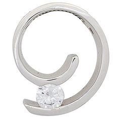 Dreambase Damen-Anhänger 1 Diamant-Brillant 14 Karat (585... https://www.amazon.de/dp/B00N5C5H9E/?m=A37R2BYHN7XPNV