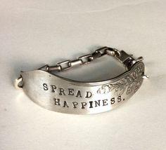 Spread Your Word Sterling Silver Bracelet Spread by mLindvall, $73.00