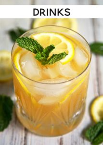Bourbon Mint Lemonade - our Signature Summer Cocktail! Only 3 ingredients - bourbon, mint and Simply Lemonade. So light and refreshing! Mix up a pitcher for your next summer BBQ and tailgating this fall! Summer Drinks, Fun Drinks, Healthy Drinks, Summer Bbq, Beverages, Alcoholic Drinks, Drinks Alcohol, Holiday Drinks, Party Drinks