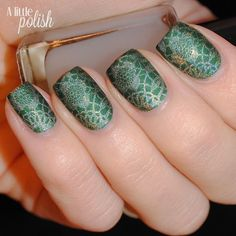 A Little Polish: The Nail Challenge Collaborative Presents: Spring Flowers - Look 1