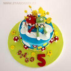 Tarta Super Mario Bros, Tartas Infantiles, Tartas Cumpleaños, Tartas Madrid
