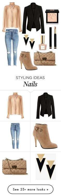 """""""J"""" by ena07-dlxx on Polyvore featuring Michael Antonio, Miss Selfridge, Theory, Valentino, Yves Saint Laurent, Gucci and Givenchy"""