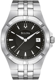 96B123. Bulova Dress watch. (A remake of the one Topher's dad used to wear.)
