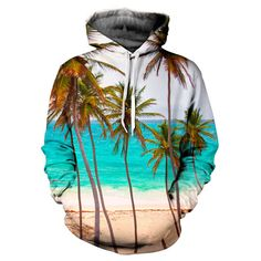 Paradise Hoodie - Special 3D Sublimation Printing Technique - Sale available on shirts, tshirts, sweatshirts (jumpers) and hoodies. http://www.yovogueclothing.com/collections/hoodies/products/paradise-hoodie
